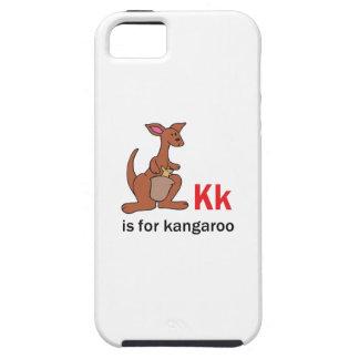 K IS FOR KANGAROO TOUGH iPhone 5 CASE