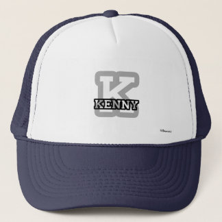 K is for Kenny Trucker Hat