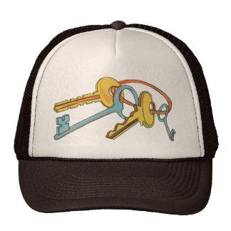 'K' is for Keys Hats