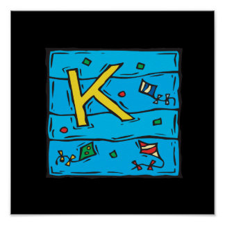 K Is For Kite Poster