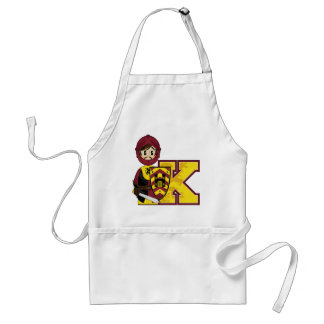 K is for Knight Standard Apron