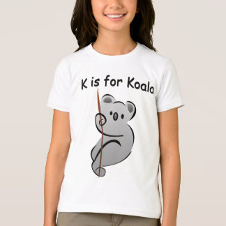 K is for Koala T-Shirt