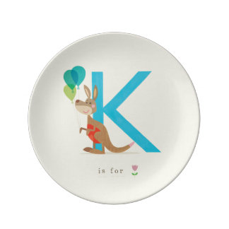 K is for... plate