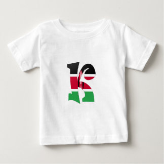 K (Kenya) Baby T-Shirt