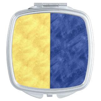 K Kilo Watercolor Nautical Signal Maritime Flag Compact Mirrors
