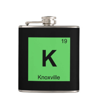 K - Knoxville Tennessee Chemistry Periodic Table Flasks