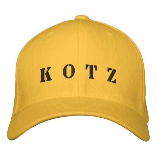 K O T Z EMBROIDERED HAT