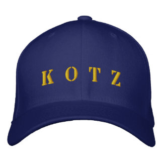 K O T Z EMBROIDERED BASEBALL CAP