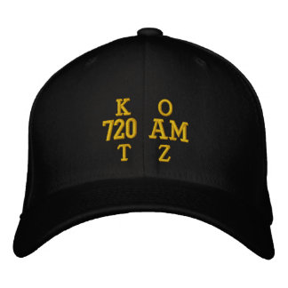 K   OT   Z, 720 AM EMBROIDERED HATS