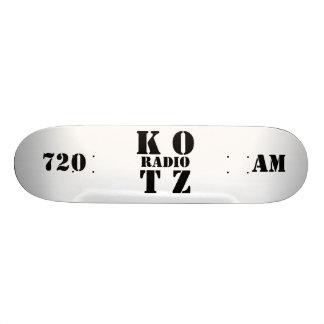 K OT Z RADIO 720 AM SKATE BOARDS