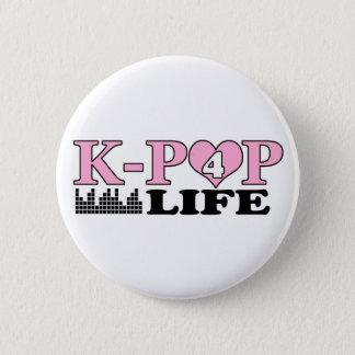 K-POP 4 LIFE 6 CM ROUND BADGE