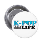 K-POP 4 LIFE BUTTON