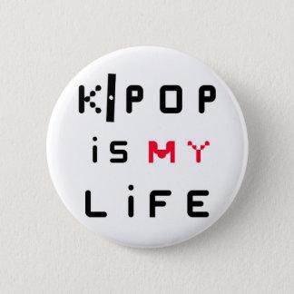 K-POP is my life 6 Cm Round Badge