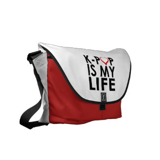 K-POP IS MY LIFE ♡ COURIER BAG