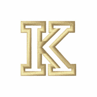 """K"" Small Athletic Letter"