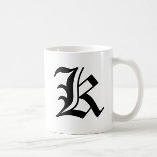 K-text Old English Coffee Mug