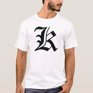 K-text Old English T-Shirt