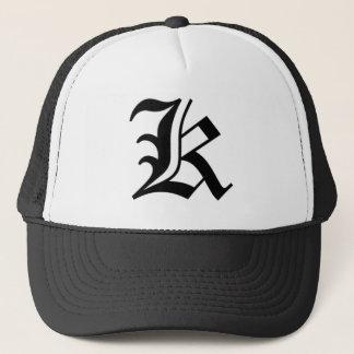 K-text Old English Trucker Hat