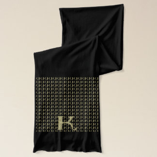 K - The Falck Alphabet (Golden Scarf