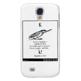 K was a kingfisher galaxy s4 case
