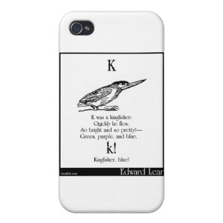 K was a kingfisher cover for iPhone 4
