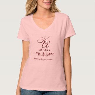 KA Books Women's V-neck T-shirt