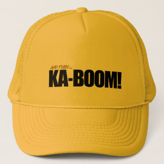 KA-BOOM! Yellow Trucker Hat
