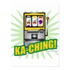 Ka-Ching Big Money! Postcard