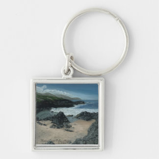 Ka`ena Point Hawaii Keychain