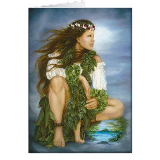"""Ka No'ono'o"" oil painting by Lori Higgins Card"