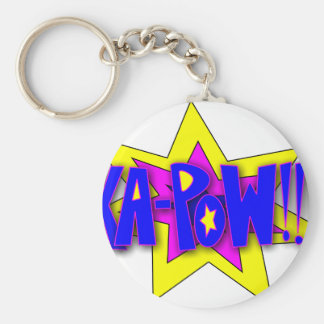 KA-PoW Basic Round Button Key Ring
