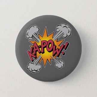 KA-POW! Comic Book Graphic 6 Cm Round Badge