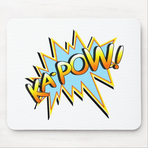 Ka-Pow Mouse Pads