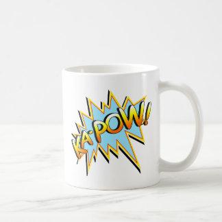 Ka-Pow Basic White Mug