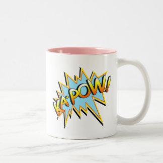 Ka-Pow Two-Tone Mug