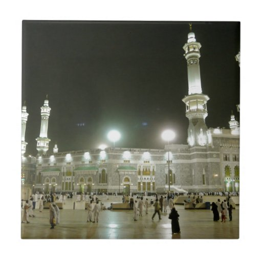 Kaaba Kaba Mecca Mecca Islam Allah Muslim Muslim Ceramic Tiles