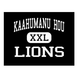 Kaahumanu Hou - Lions - High - Kahului Hawaii Postcard