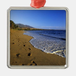 Kaanapali beach, Maui, Hawaii, USA Christmas Ornament