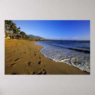 Kaanapali beach, Maui, Hawaii, USA Poster