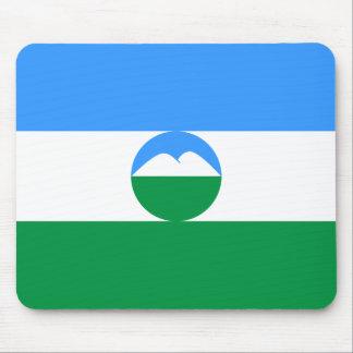 Kabardino Balkaria, Russia flag Mouse Pad