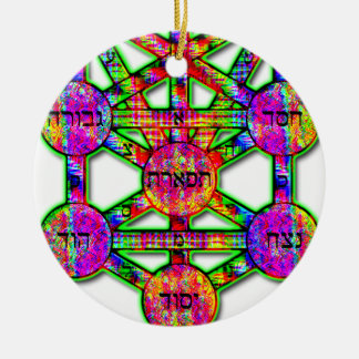 Kabbalistic Tree of Life Christmas Ornament