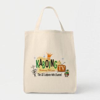 KaboingTV Grocery Tote Bags