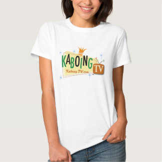KaboingTV Ladies Baby Doll (Fitted) T-shirt