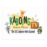 KaboingTV Postcard