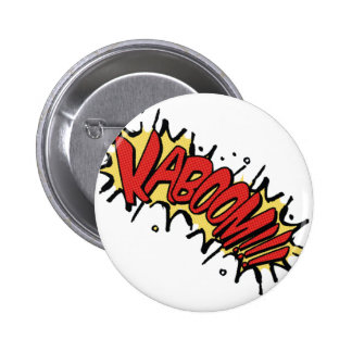 Kaboom !! 6 cm round badge