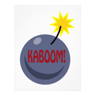 Kaboom Personalized Flyer