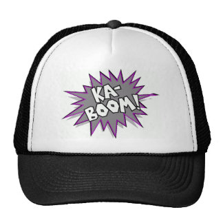 kaboom! mesh hats