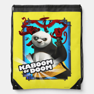 Kaboom of Doom Drawstring Bag