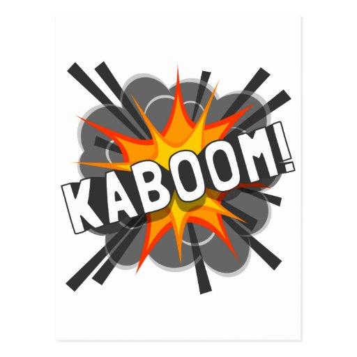 KABOOM! POSTCARD