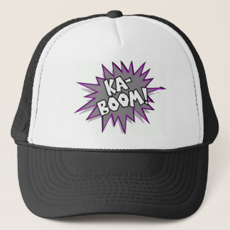 kaboom! trucker hat